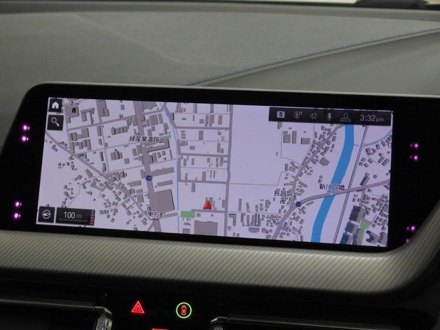 iDriveのダイレクト・メニュー・コントロールボタンによる、直感的かつシームレスな操作感が楽しめるHDDナビゲーションなので、よりドライブに集中できるメリットがあります。