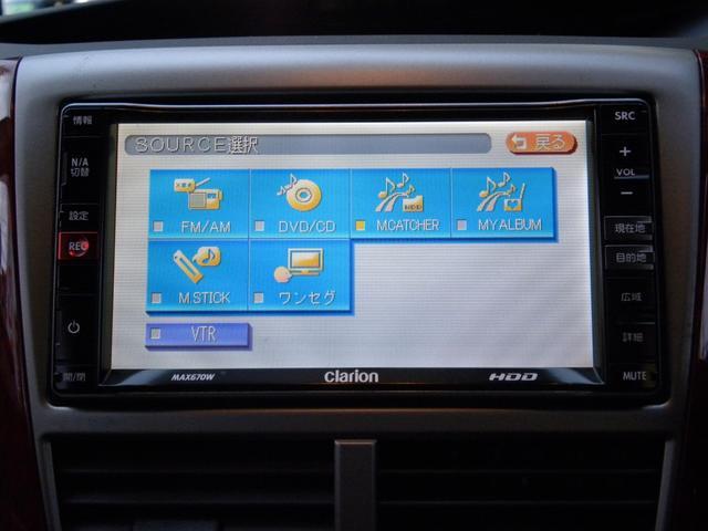 XS 4WD純正HDDナビテレビETCシートヒーターHID(9枚目)
