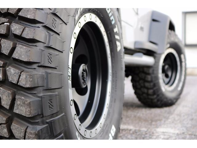クライスラー・ジープ クライスラージープ ラングラー サハラ 新品タイヤホイール 4速オートマ