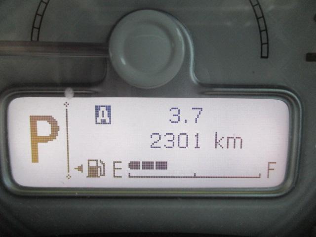 走行距離2301kmと少なめです。