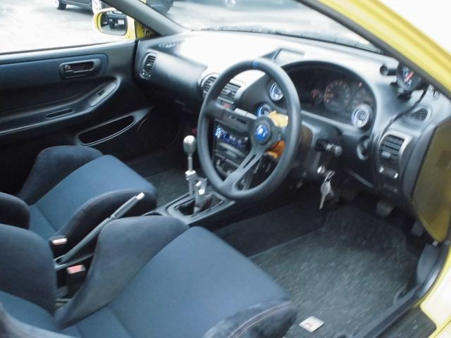 ホンダ インテグラ スタンスUSDM車高調 タイプR サンルーフ リアスポイラー