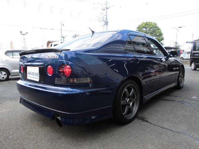 トヨタ アルテッツァ RS200リミテッドオーリンズ車高調TRDエキマニマフラー…