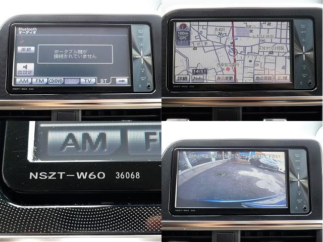 純正SDナビはワンセグテレビ、Bluetooh対応でバックカメラもあります