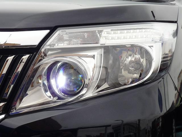 消費電力の少ないLEDヘッドライト