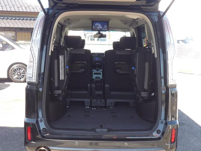 ライダーブラックラインZZ S-HV Aセーフティ 純正8型SDナビ 後席FDモニター Bluetooth 両側自動ドア 全方位カメラ エマージェンシーブレーキ LEDヘッドランプ Fog&dayライト CD録音 DVD再生 ETC 禁煙車(46枚目)