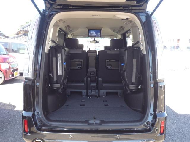 ライダーブラックラインZZ S-HV Aセーフティ 純正8型SDナビ 後席FDモニター Bluetooth 両側自動ドア 全方位カメラ エマージェンシーブレーキ LEDヘッドランプ Fog&dayライト CD録音 DVD再生 ETC 禁煙車(47枚目)