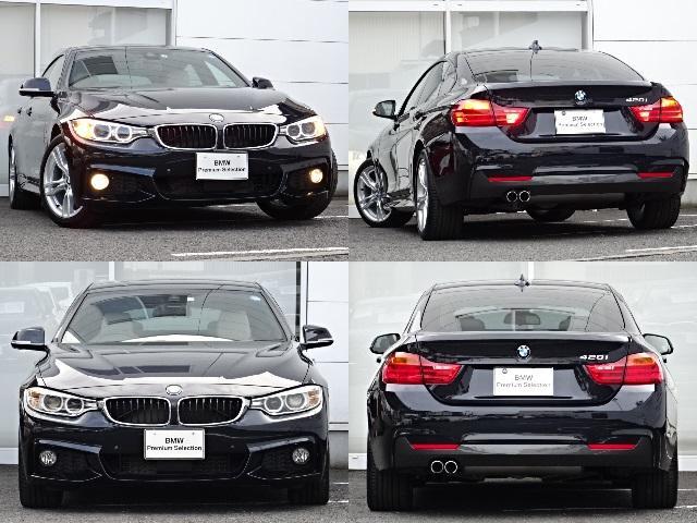 BMW BMW 420MスポIV革ウッド後方警告ACC地デジナビカメラPDC