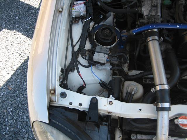 ベースグレード 車高調&社外マフラー 5桁メーターのため走行距離不明(28枚目)