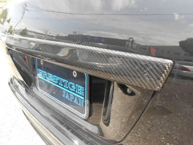 日産 シーマ 300G 社外ハーフエアロ 社外アルミ ローダウン