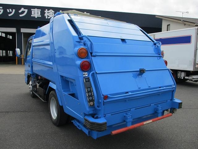 いすゞ エルフトラック 新明和プレス式4.2m3