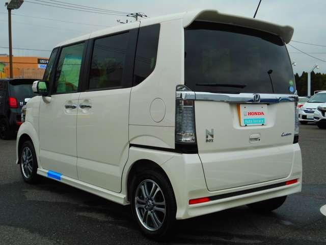 ホンダ N BOXカスタム G・Lパッケージ デモカー試乗車
