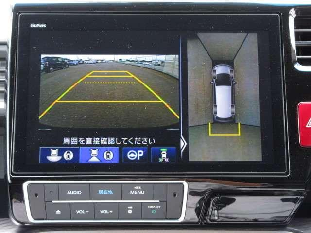 スパーダハイブリッド G・EX ホンダセンシング Honda認定中古車2年保証付 衝突被害軽減ブレーキ アダプティブクルーズ ドラレコ メモリーナビ 全周囲カメラ フルセグTV 両側電動スライドドア LEDライト ETC スマートキー ワンオーナー車(6枚目)