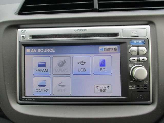 純正メモリーナビです。DVD/CD再生のほかにもワンセグTVも装備されとっても便利です!