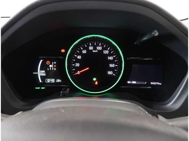 ハイブリッドRS・ホンダセンシング 2年保証付 衝突被害軽減ブレーキ クルーズコントロール ドラレコ メモリーナビ Bカメラ フルセグ 純正アルミ LEDヘッドライト シートヒーター ETC スマートキー ワンオーナー車(8枚目)