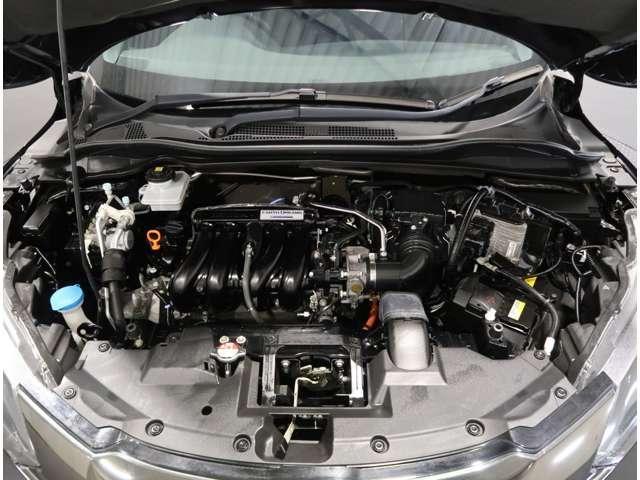 ハイブリッドRS・ホンダセンシング 2年保証付 衝突被害軽減ブレーキ クルーズコントロール ドラレコ メモリーナビ Bカメラ フルセグ 純正アルミ LEDヘッドライト シートヒーター ETC スマートキー ワンオーナー車(16枚目)
