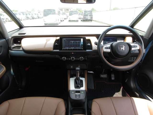 リュクス 2年保証付 デモカー 衝突被害軽減ブレーキ クルーズコントロール ドラレコ メモリーナビ Bカメラ 純正アルミ LEDヘッドライト ETC シートヒーター スマートキー ワンオーナー車(7枚目)