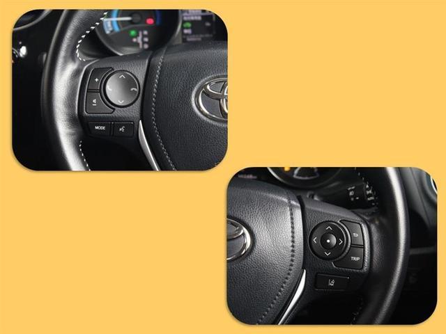 ハイブリッド LEDヘッドライト フルセグTV ナビTV アルミ スマートキー ETC ドラレコ DVD再生 CD ハーフレザーS プリクラッシュセーフティシステム メモリナビ リアカメラ イモビライザー VSC(6枚目)