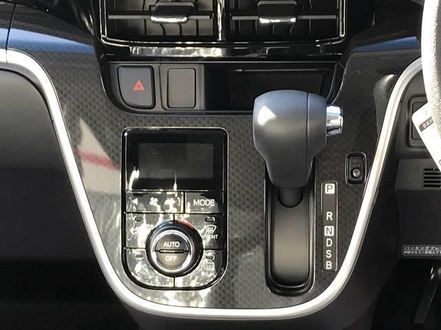カスタム X 届出済未使用車 衝突軽減ブレーキ  LEDヘッドライト コーナーセンサー付き パーキングセンサー オートエアコン スマートキー  禁煙車 パワーステアリング 修復歴無(12枚目)