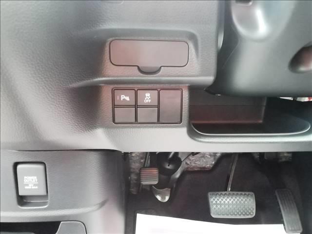 カスタム L 届出済未使用車 片側電動スライドドア 衝突軽減ブレーキ LEDヘッドライト スマートキー プッシュスタート オートエアコン アイドリングストップ 禁煙車 パワーステアリング パワーウインドウ 修復歴無(18枚目)