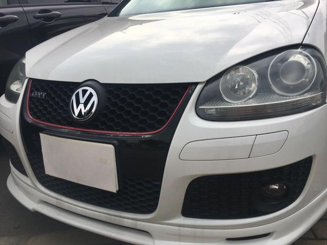 フォルクスワーゲン VW ゴルフ GTI 社外マフラー ナビTV バックカメラ ドラレコ