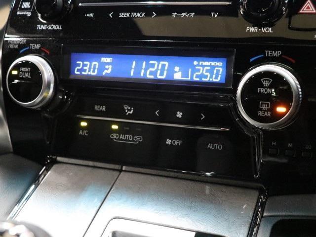 3.5エグゼクティブラウンジZ 革シート サンルーフ フルセグ メモリーナビ 後席モニター バックカメラ ドラレコ 衝突被害軽減システム ETC 両側電動スライド LEDヘッドランプ 3列シート DVD再生(11枚目)