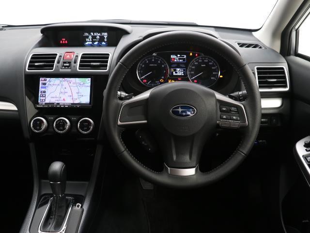 2.0iアイサイト 4WD フルセグ メモリーナビ バックカメラ 衝突被害軽減システム ETC HIDヘッドライト ワンオーナー DVD再生 ミュージックプレイヤー接続可 記録簿 安全装備 オートクルーズコントロール(4枚目)