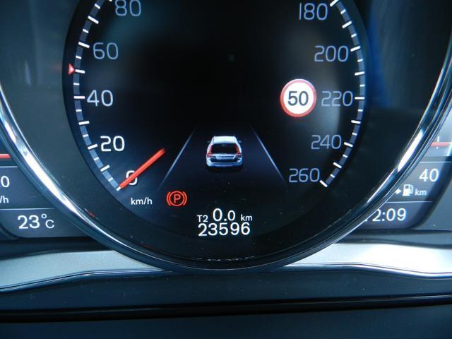 走行距離は2.4万kmと、V70としては非常に少ないお車です。