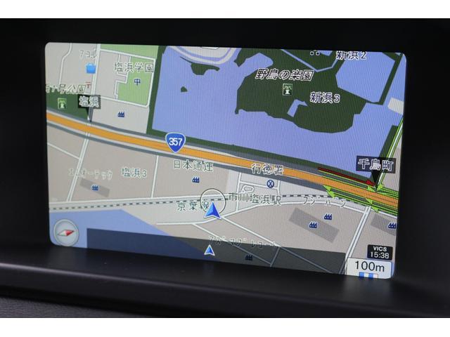 HDDナビ、地デジTV、バックカメラを装備。地図データは最新版に更新します。