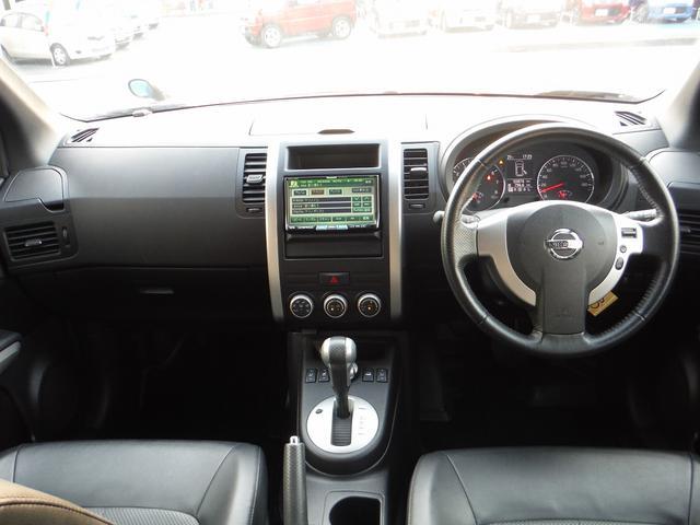 日産 エクストレイル 20Xtt4WD専用HDDナビ地デジETCインテリキ18AW