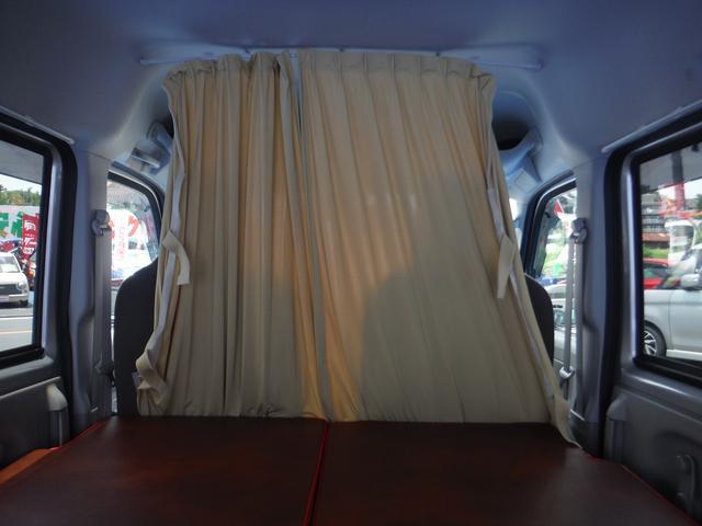 PCスペシャル ステージ21製6cmベッドキット・ベッド下収納・カーテン・DC→ACインバーター・サブバッテリー・オーバーヘッドコンソール・キーレス・レーダーブレーキ・5AGS・オーディオ・キャンプ・車中泊にぴったり(43枚目)