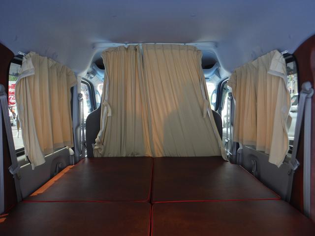PCスペシャル ステージ21製6cmベッドキット・ベッド下収納・カーテン・DC→ACインバーター・サブバッテリー・オーバーヘッドコンソール・キーレス・レーダーブレーキ・5AGS・オーディオ・キャンプ・車中泊にぴったり(46枚目)