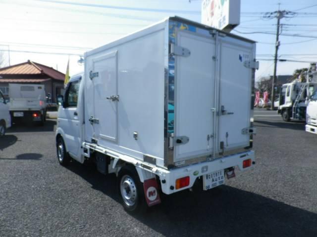 スズキ キャリイトラック 冷蔵冷凍車 設定温度-25度