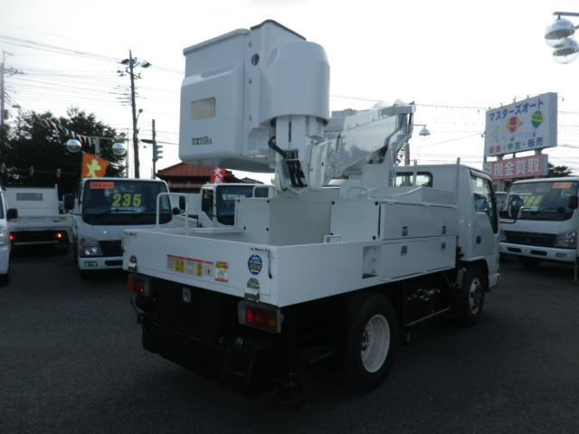 いすゞ エルフトラック 高所作業車 タダノAT100TE 電工仕様
