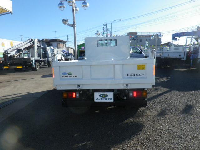 いすゞ エルフトラック SG 3トン強化ダンプ フルフラットロー