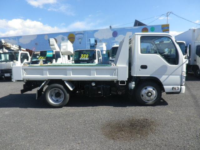 いすゞ エルフトラック 2トン強化ダンプ フルフラットロー