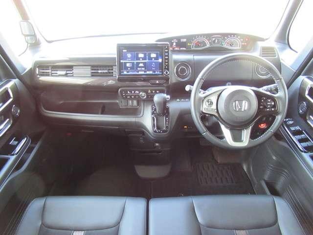 G・Lターボホンダセンシング 4WD 8インチナビTV 前後ドラレコ Fシートヒーター 左右電動スライドドア LEDライト ETC オートライト クルーズコントロール フロントシートヒーター スマートキー 純正15インチアルミ(14枚目)