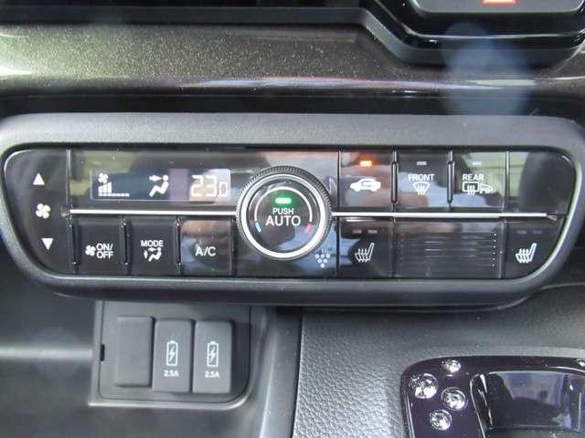 G・Lターボホンダセンシング 4WD 8インチナビTV 前後ドラレコ Fシートヒーター 左右電動スライドドア LEDライト ETC オートライト クルーズコントロール フロントシートヒーター スマートキー 純正15インチアルミ(16枚目)