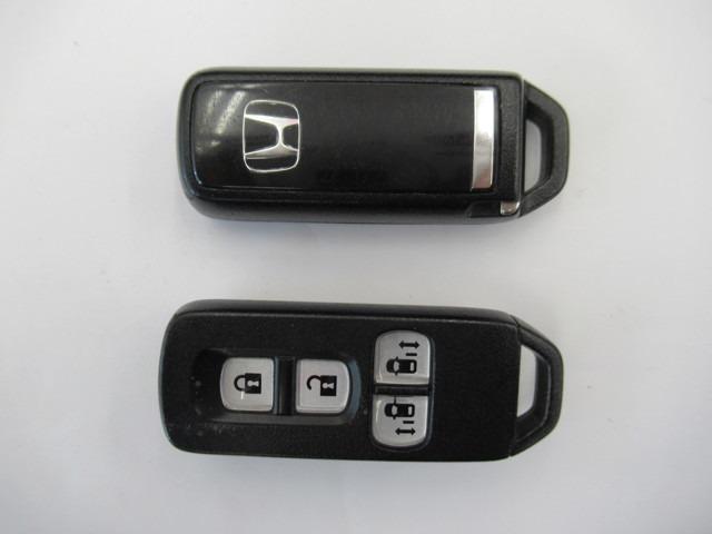 G SSパッケージ ナビTV 衝突軽減ブレーキ 左右電動スライドドア HIDライト リヤカメラ オートライト スマートキー 純正14インチアルミホイール(18枚目)