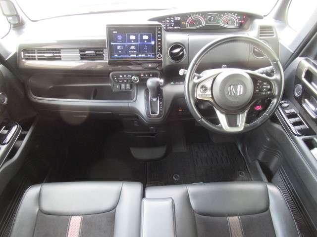 G・Lターボホンダセンシング 8インチナビフルセグTV タイヤ4本新品交換 前後ドライブレコーダー ETC LEDヘッドライト 左右電動スライドドア オートライトコントロール クルーズコントロール M/Tモード リアシートスライド(14枚目)