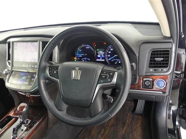 ロイヤルサルーン トヨタ認定中古車 保証付き ハイブリッド機構保証付き(9枚目)