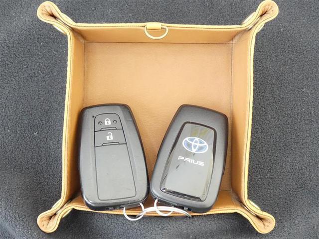 S トヨタ認定中古車 ハイブリット機構保証 ナビTV 純正アルミ LEDヘッドランプ スマートキー イモビライザー ETC バックモニター ワンオーナー(19枚目)