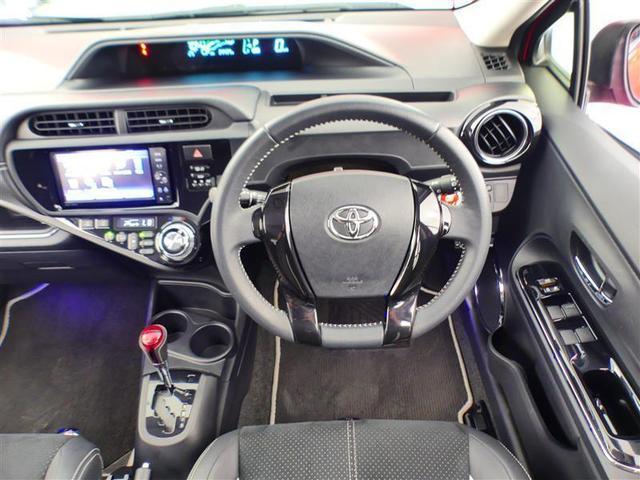 G G's トヨタ認定中古車 ハイブリット機構保証付き アルカンターラシート 新品タイヤ4本交換付き ナビTV 純正アルミ LEDヘッドランプ スマートキー イモビライザー ETC バックモニター ワンオーナー(4枚目)