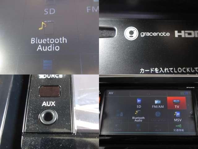 Bluetoothオーディオも付いています