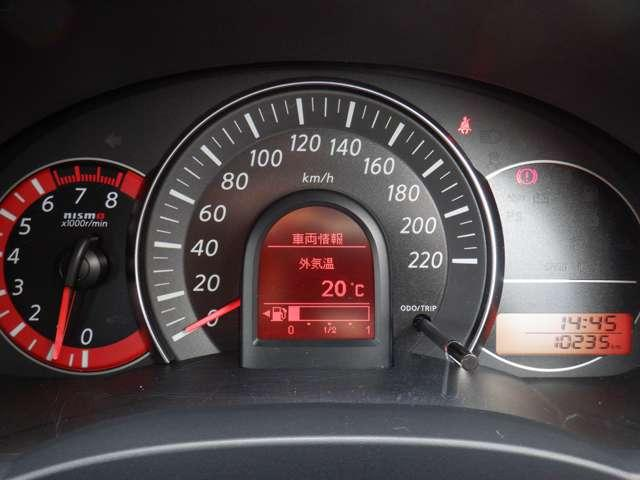 ニスモ S 1.5 NISMO S◆1オ-ナ-車◆HR15DEエンジン(専用チューン)◆チューニング(ECM)◆専用サスペンション(スプリング、ショックアブソーバー、スタビライザー)◆専用コンビメーター220km(3枚目)