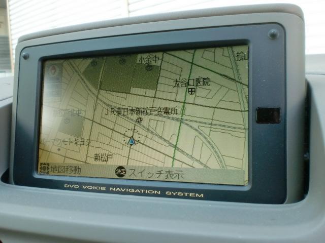 トヨタ プログレ NC250 ウォールナットパッケージ 純正DVDナビ