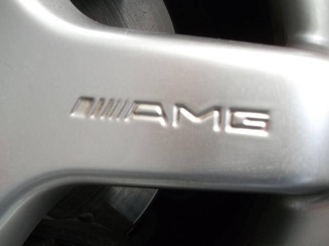 本物AMG18インチアルミ