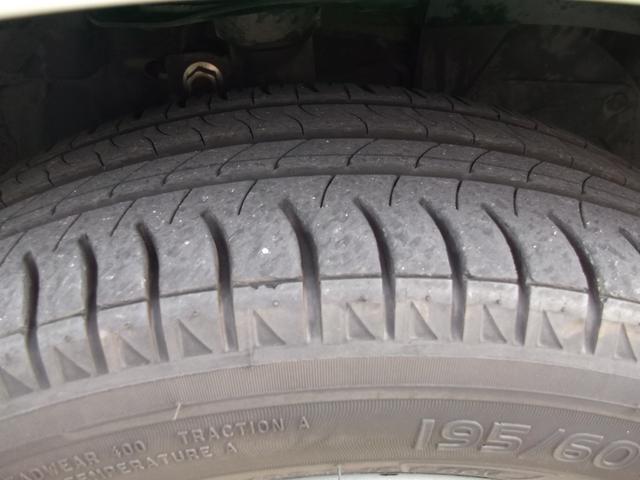 タイヤもまだまだ大丈夫!
