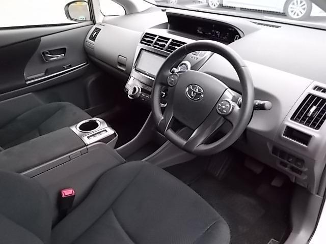 トヨタ プリウスアルファ Sチューンブラック フルセグSDナビ LED 全国1年保証付