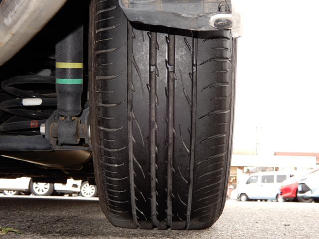 タイヤのヤマは4本ともまだまだあります!外装・内装や機関・装備等の状態を表記した『車両評価シート』がございます。メールやFAX等でお送りすることが出来ますので、お気軽にお問い合わせ下さい。