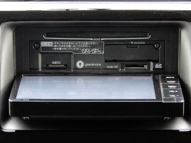 純正SDナビ搭載。ワンセグ地デジTV、CD、SDオーディオ、Bluetooth等内蔵。